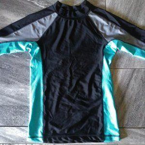 NWT Cherokee Rashguard Swim Shirt L/G 12-14